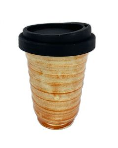 Earth Cup - Golden Brown Design - Australia Wide - Free Shipping