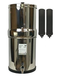 British Berkefeld Gravity System with Black Berkey™ Filters