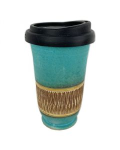 Earth Cup - Turquoise Stone Design - Australia Wide - Free Shipping