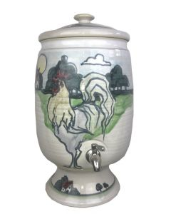 12 Litre 'One of a Kind' Hand Painted Farm Scene - (RETAIL ONLY)