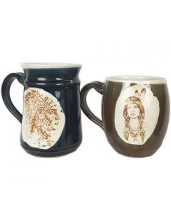 Special Offer - His & Hers Native American Design Mugs