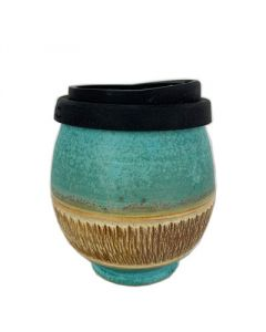 Earth Cup - Turquoise Stone Round Design - Australia Wide - Free Shipping