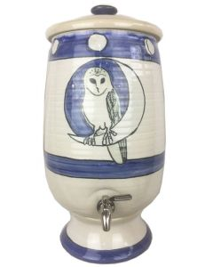 'One of a Kind' 15 Litre Fluoride Reduction System - Hand Painted Owl Design - (RETAIL ONLY)